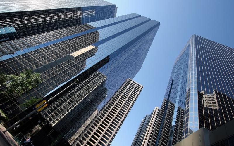 В Нью-Йорке планируют запретить строить небоскребы из стекла и стали. здание, небоскреб, строительство, стекло, Нью-Йорк, США