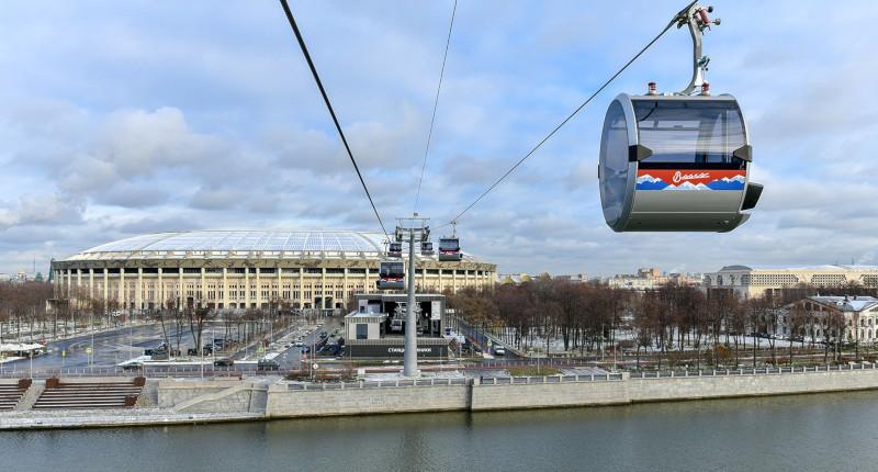 Пять инвесторов поборются за создание канатной дороги в Москве. строительство, канатная дорога, Москва