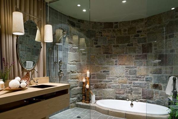 Как можно украсить камнем ванную комнату. 17046.jpeg