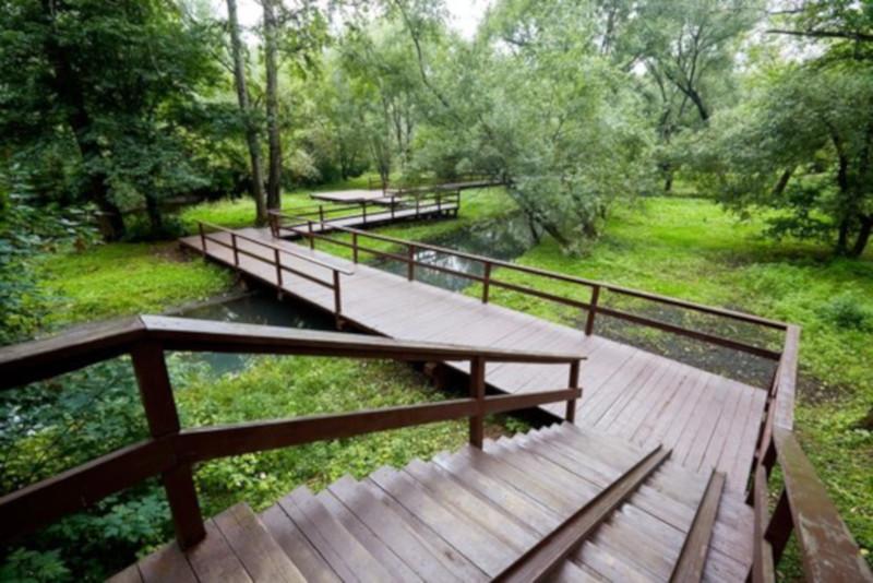В Москве началось благоустройство парка в пойме Яузы. парк, благоустройство, Яуза, Москва