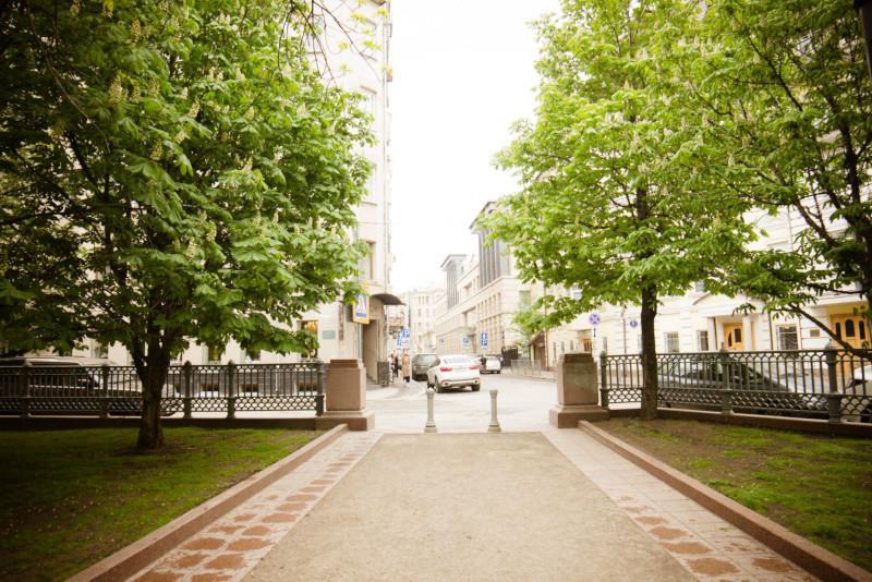 Пять переулков рядом с Патриаршими прудами благоустроят. переулок, Патриаршие пруды, столица, Москва