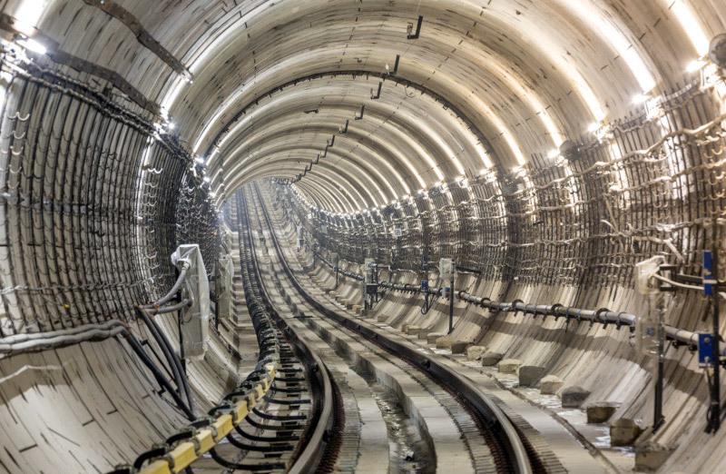 Достроен еще один участок Большой кольцевой линии московского метро. строительство, метрополитен, метро, Собянин, Москва