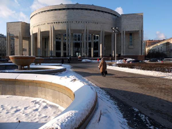 В Петербурге протекла крыша Российской национальной библиотеки. 15073.jpeg