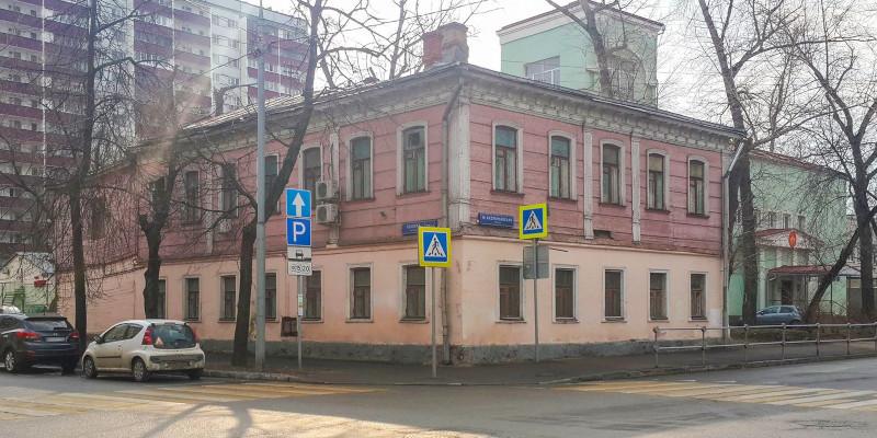 Деревянный дом конца XIX века в центре Москвы взяли под охрану. дом, здание, деревянный, исторический, Москва