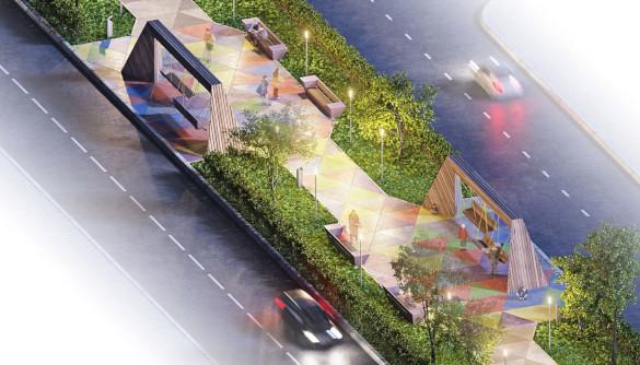 Студия А.Лебедева создала концептуальный пешеходный бульвар. 14083.jpeg