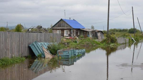 В Комсомольске-на-Амуре в зоне подтопления оказалось почти 370 жилых домов. дом, подтопление, река, Амур, Комсомольск-на-Амуре