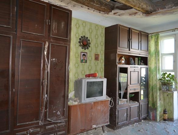 На голову жителям квартиры в доме в Волгограде рухнул потолок. 14097.jpeg