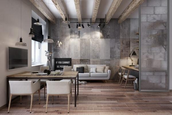 Дизайн квартиры в стиле лофт. 15099.jpeg