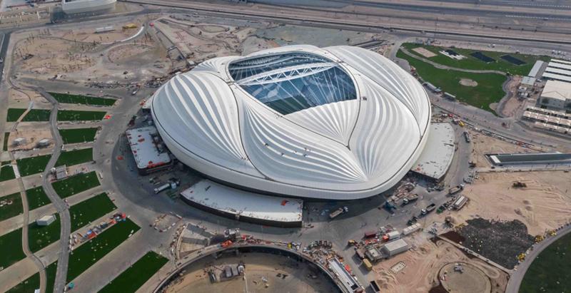 Первый стадион, построенный к ЧМ-2022, открылся в Катаре. стадион, чемпионат, футбол, строительство, проект, архитектура, Захи Хадид