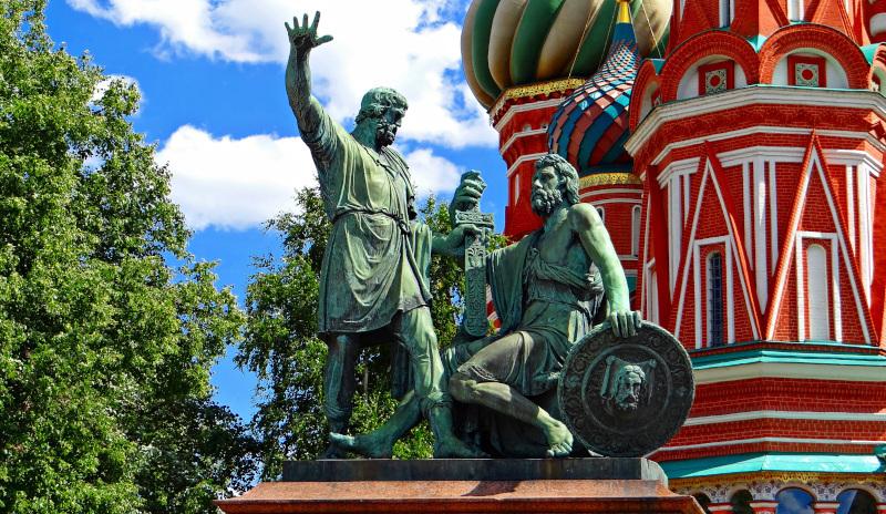 В Москве отреставрируют памятник Минину и Пожарскому. памятник, реставрация, Минин, Пожарский, Москва