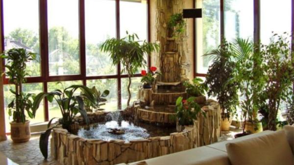 В Барнауле продают квартиру с фонтаном. дом, квартира, фонтан, продажа, Барнаул