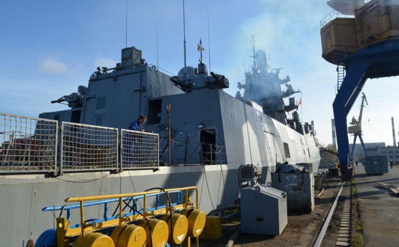 Судостроители решили возникшую из-за Украины проблему постройки фрегатов. судостроение, корабль, фрегат, флот, Украина