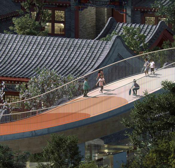 В Пекине начали строительство детского сада, который