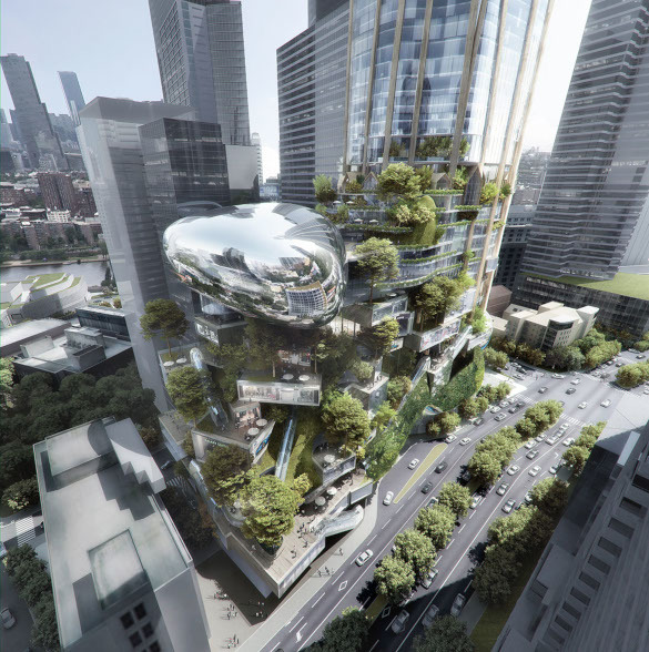 Китайские архитекторы разработали проект