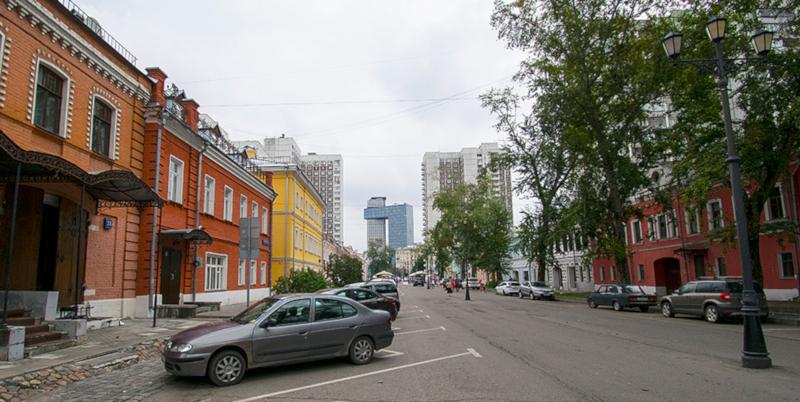 В Москве музеефицируют Школьную улицу. улица, музей, Москва