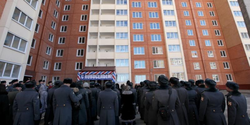 В МВД оценили очередь полицейских на жилье в 85 лет. дом, квартира, МВД, ипотека