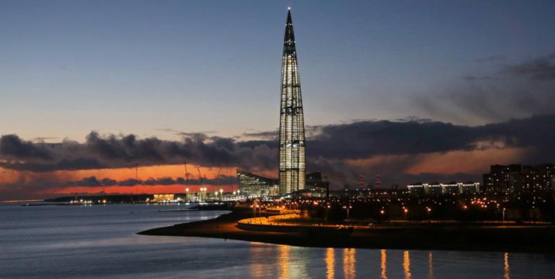 «Газпром» выкупил самый высокий небоскреб в Европе. дом, небоскреб, Газпром, Европа