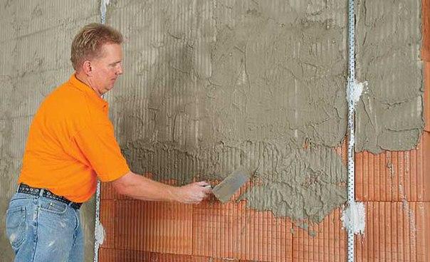 Штукатурка кирпичной стены. Штукатурка кирпичной стены 5
