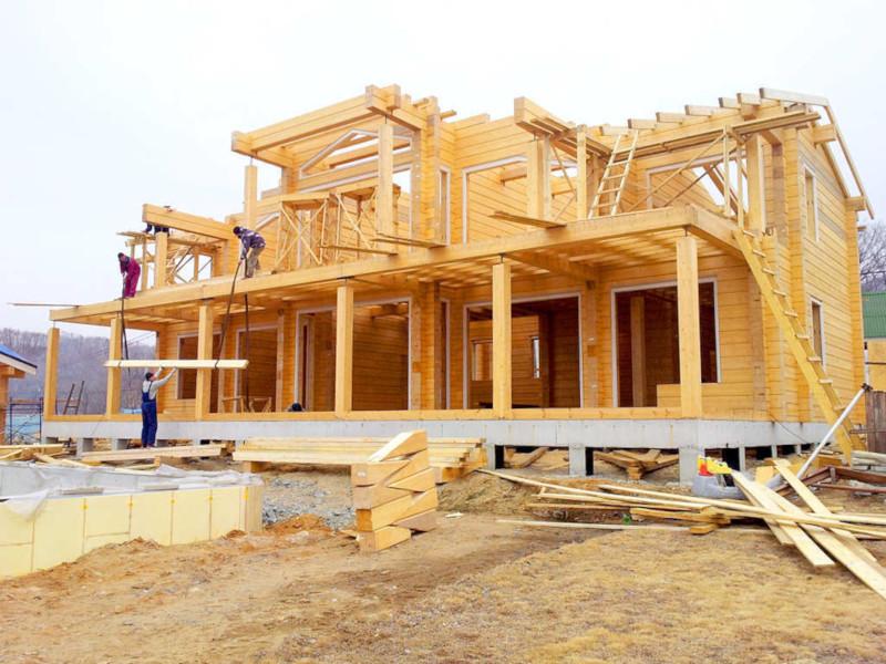 Треть школ и детских садов предлагают строить из дерева -комментарий эксперта. дом, здание, строительство, инфраструктура, детский сад, школа, дерево