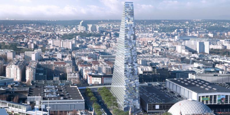 Лувр или пирамида Хеопса: каким будет первый за 50 лет небоскреб в Париже. дом, здание, строительство, небоскреб, Париж