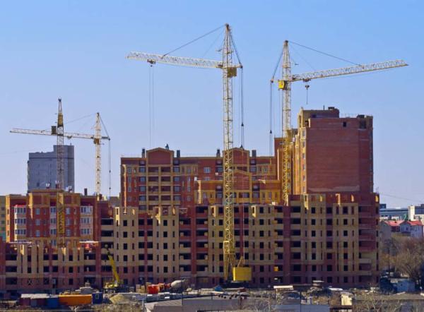 Росстат сообщил, что в августе объем строительства жилья увеличился на 11%. дом, квартира, строительство, жилье