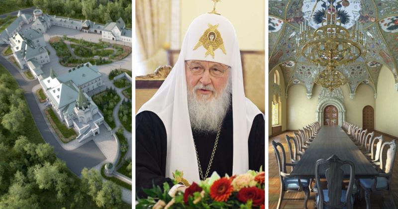 В РПЦ открестились от резиденции патриарха в Пушкине. дом, строительство, резиденция, патриарх, Пушкин