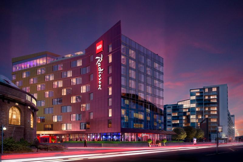 Отели Radisson Red могут открыться в Москве и Петербурге. дом, здание, гостиница, отель, Radisson Red, Петербург, Москва