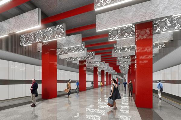 Дизайн станции метро Москвы