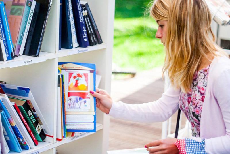 Летом в 12 московских парках откроются читальни. парк, читальня, чтение, книги, литература, Москва
