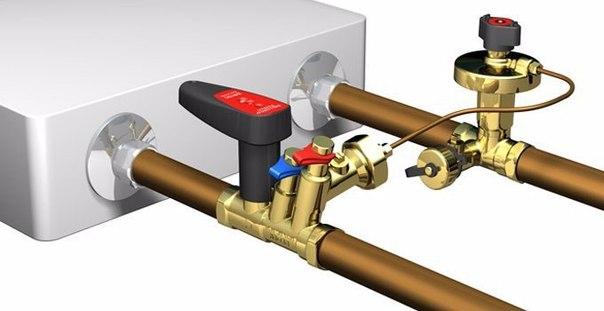 Балансировочный клапан помогает экономить при отоплении