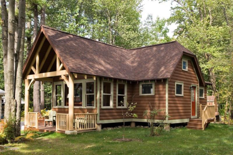 Чем покрыть фасад деревянного дома?. дом, загородный дом, фасад, отделка