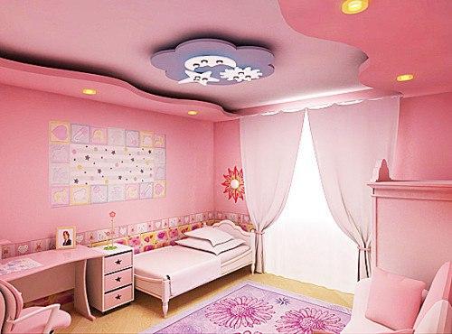 Потолок в детской: фото, способы оформления. Потолок в детской: фото 6