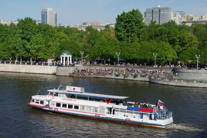 В Москве речные трамваи могут стать общественным транспортом. транспорт, город, речные трамваи, Москва