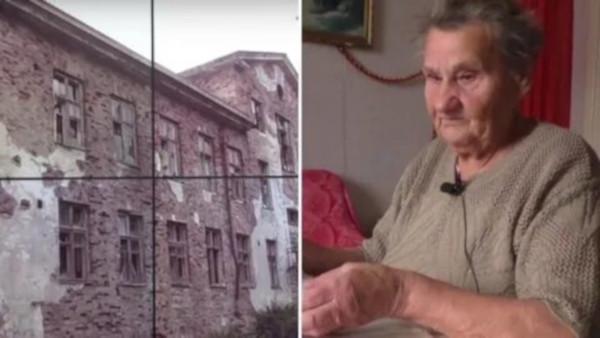80-летняя пенсионерка 30  лет живет в заброшенном санатории. дом, здание, санаторий