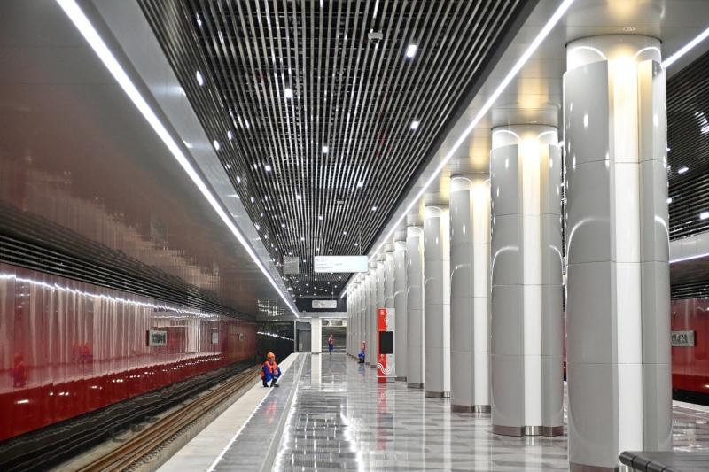 В Москве открылось четыре новых станции Некрасовской линии метро. дом, метро, станция, Москва