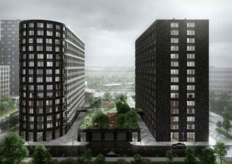 На юго-востоке Москвы построят ЖК с мостами и зеленой крышей. дом, квартира, жилой, комплекс, мост, Москва