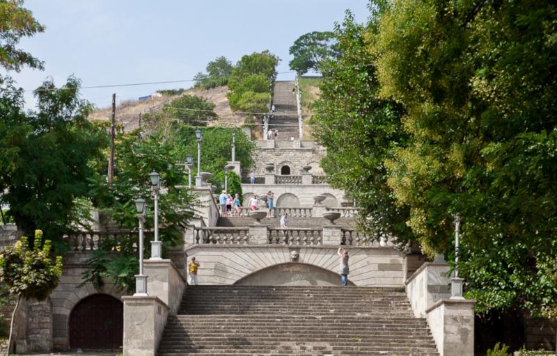Митридатскую лестницу в Керчи спасут от разрушения. лестница, Митридат, реконструкция, Керчь, Крым