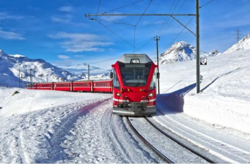 Из Петербурга в Арктику пустят туристический поезд. транспорт, поезд, туризм, Арктика, Петербург, Норвегия