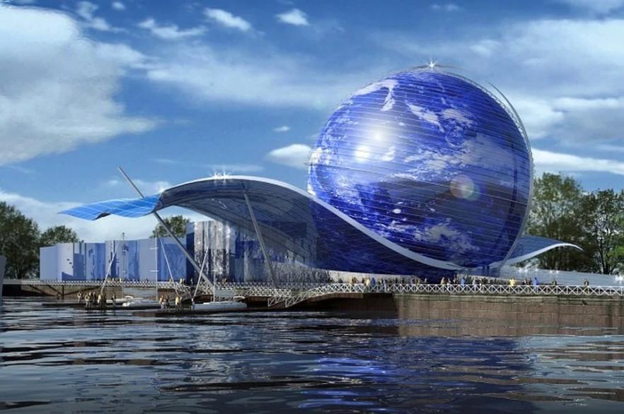 Кабмин выделит 1,29 млрд рублей на строительство музея в форме Земного шара. 15346.jpeg