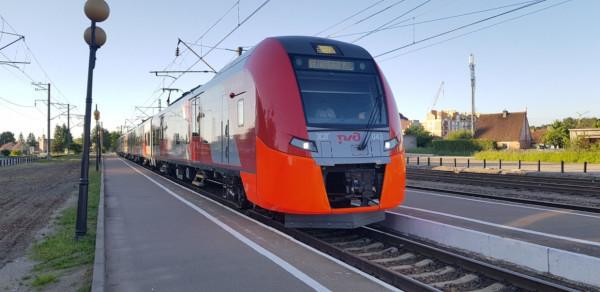 Из Петербурга в Иматру впервые отправилась тестовая «Ласточка». транспорт, поезд,