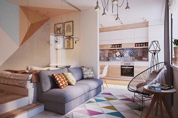Как сделать маленькую квартиру более просторной. 14353.jpeg