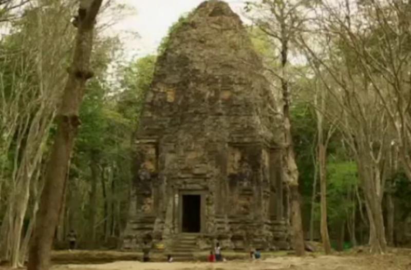 Город, который был скрыт в джунглях на протяжении двух веков. дом, город, джунгли, археология