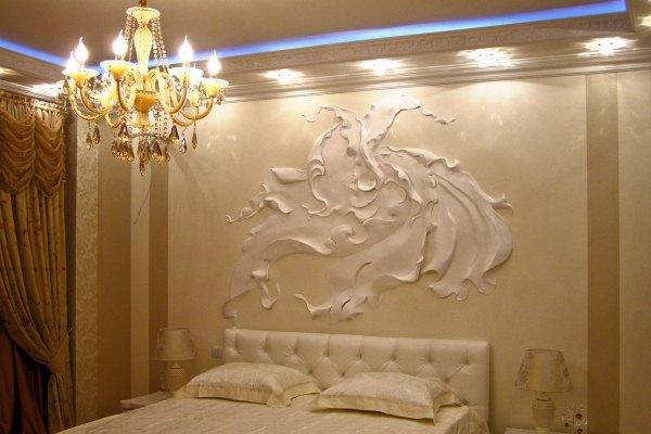 Объёмный рисунок на стене - это так красиво и просто. 13360.jpeg
