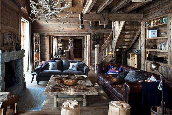 Шале: стиль деревенской хижины в городской квартире. 16391.jpeg