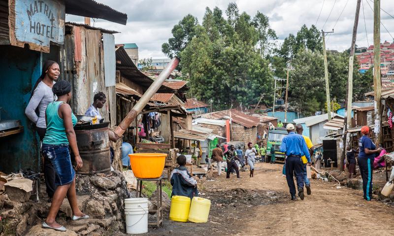 Россия примет участие в расселении трущоб в Кении - Эксперт - специально для