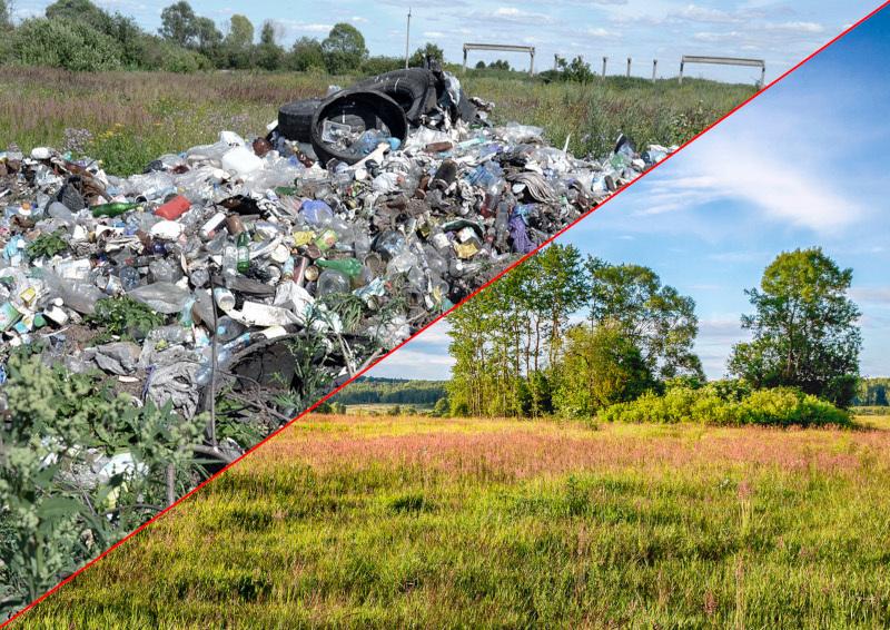 В 2019 году в восьми регионах РФ рекультивируют более 30 свалок. дом, квартира, мусор, свалка, жкх, реформа, экология