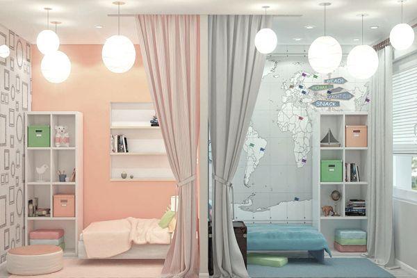 Комната для двоих детей: советы по оформлению. 15464.jpeg