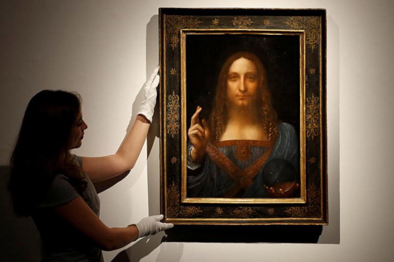 Самую дорогую картину в мире обнаружили на яхте саудовского принца. живопись, картина, Спаситель мира, художник, Леонардо да Винчи, принц, Саудовская Аравия