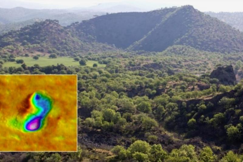 Эксперт прокомментировал сообщение о  загадочных следах возле вулкана в Турции. археология, исследование, раскопки, древние люди, вулкан, камень, Турция