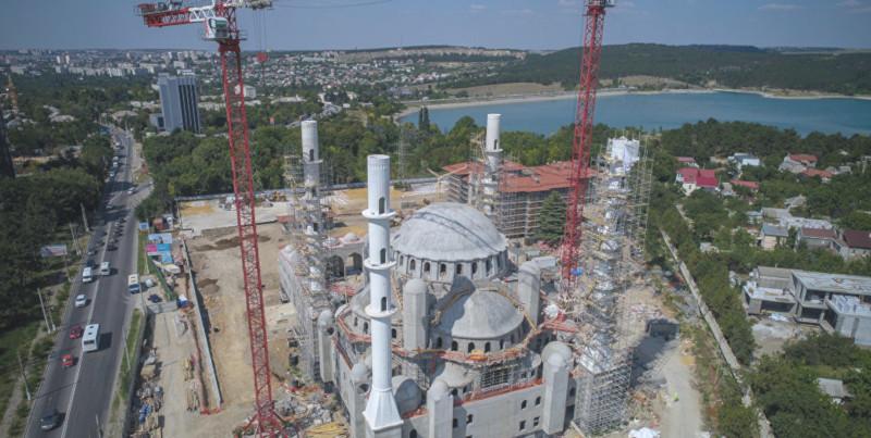 Соборную мечеть Крыма планируют достроить этой осенью. 15506.jpeg